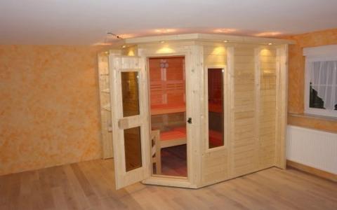 sauna im wohnzimmer – progo, Wohnzimmer