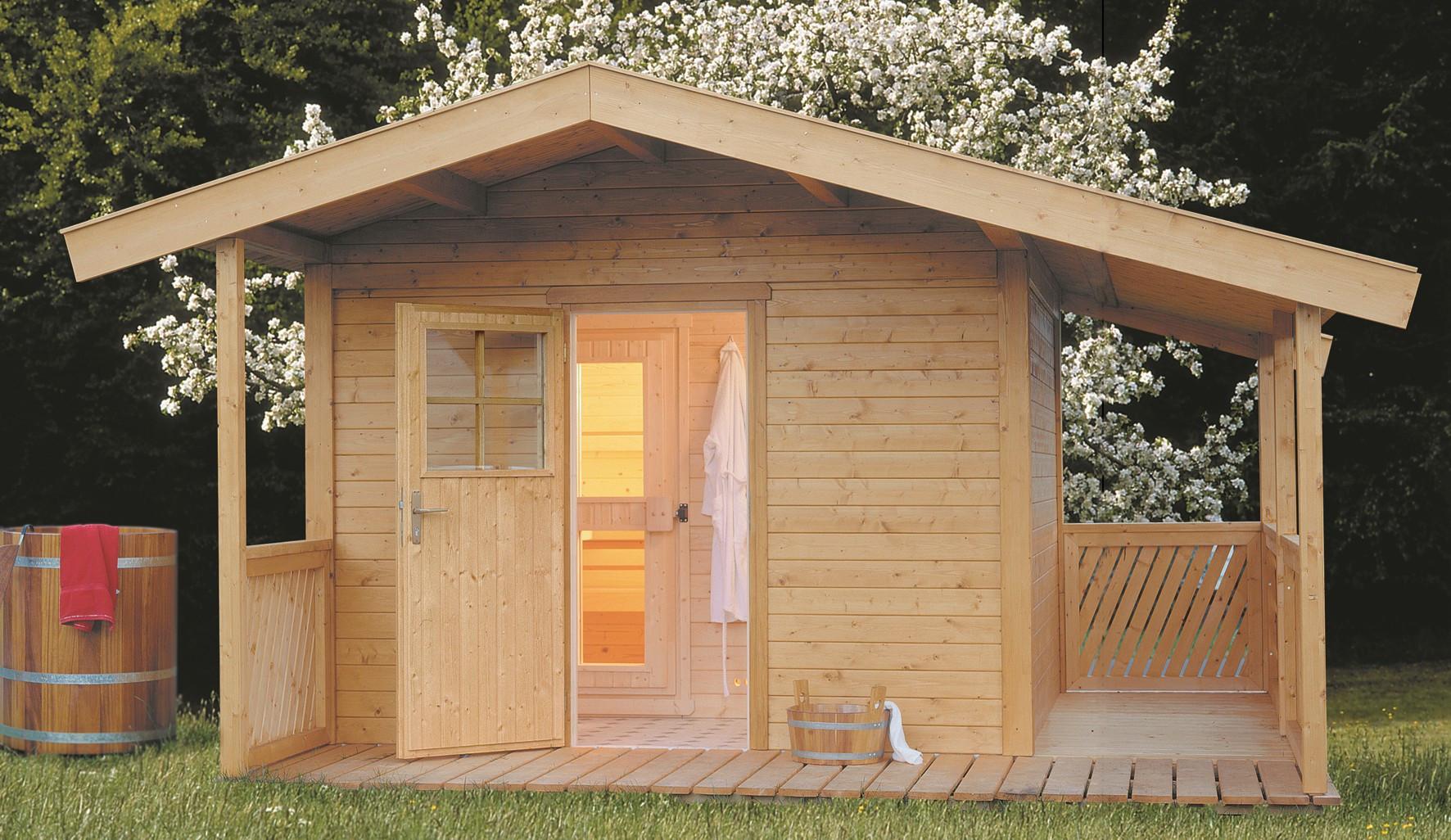 au ensauna gartensauna wille sauna. Black Bedroom Furniture Sets. Home Design Ideas