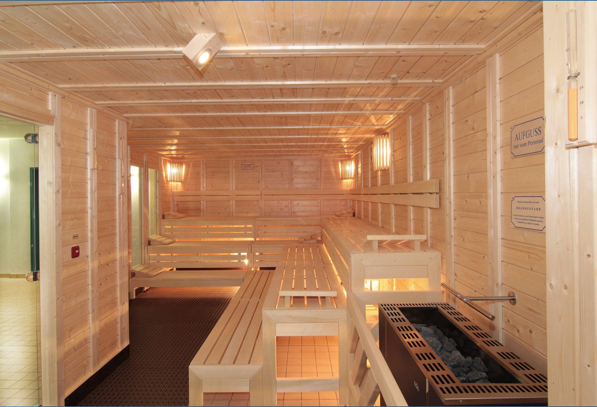 Innenbereich Saunalandschaft