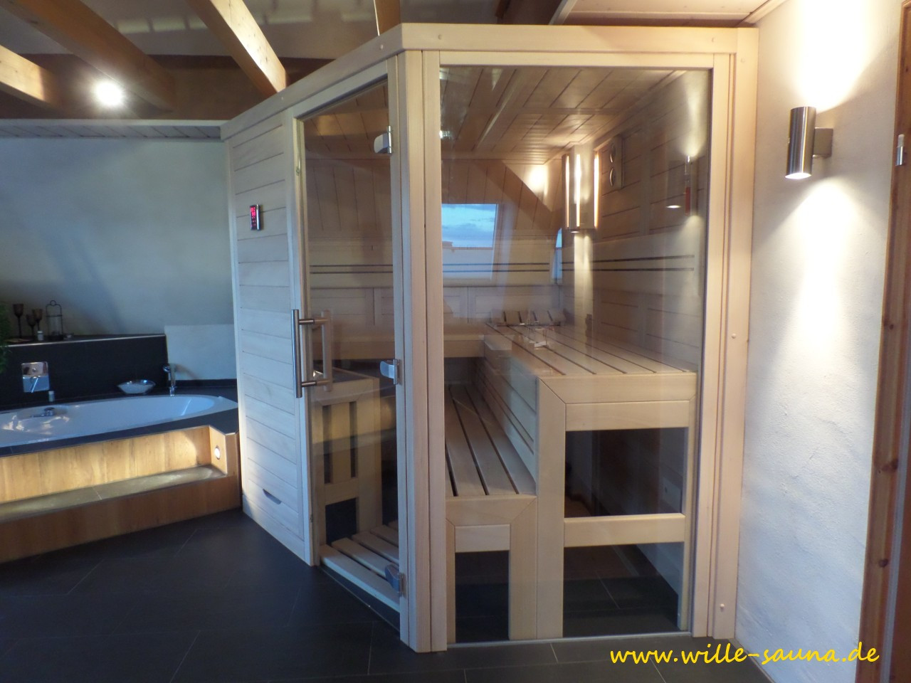 Design Sauna von Wille
